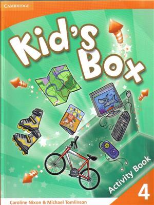 خرید کتاب انگليسی Kid's Box 4 Activity Book + CD