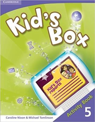 خرید کتاب انگليسی Kid's Box 5 Activity Book + CD