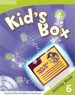 خرید کتاب انگليسی Kid's Box 6 Activity Book + CD