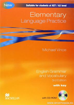 خرید کتاب انگليسی Language Practice Elementary With CD