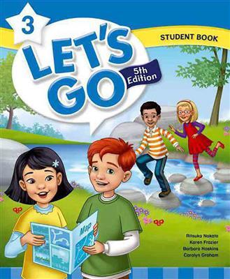 خرید کتاب انگليسی Lets Go 5th 3 SB+WB+DVD