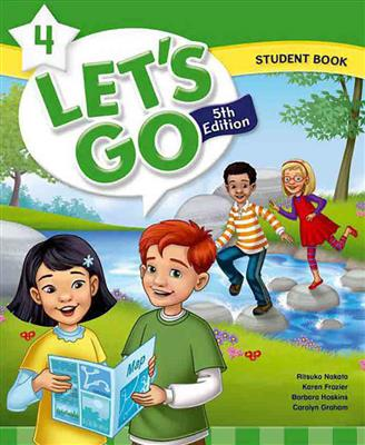 خرید کتاب انگليسی Lets Go 5th 4 SB+WB+DVD