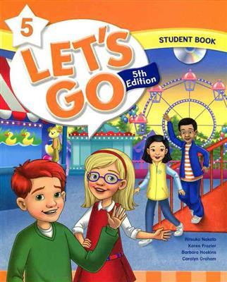 خرید کتاب انگليسی Lets Go 5th 5 SB+WB+DVD