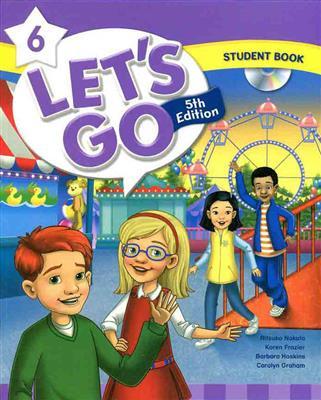 خرید کتاب انگليسی Lets Go 5th 6 S.B+W.B+DVD