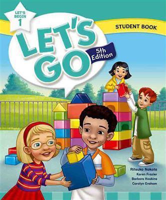 خرید کتاب انگليسی Lets Go Begin 5th 1 S.B+W.B+DVD