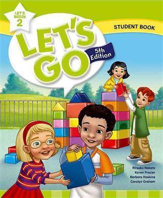خرید کتاب انگليسی Lets Go Begin 5th 1 SB+WB+DVD