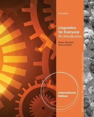 خرید کتاب انگليسی Linguistics for Everyone 2nd-Denham