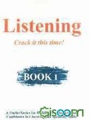خرید کتاب انگليسی Listening: crack it this time!: book 1
