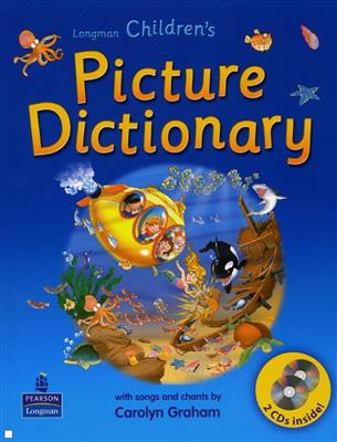خرید کتاب انگليسی Longman Childrens Picture Dictionary+CD