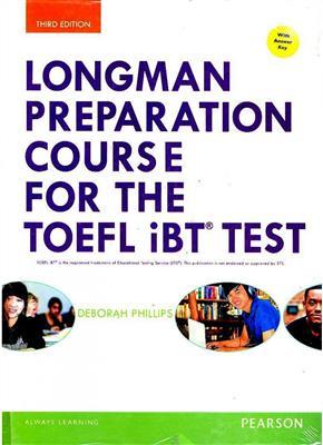 خرید کتاب انگليسی Longman Preparation Course for the TOEFL iBT Test 3rd+2CD