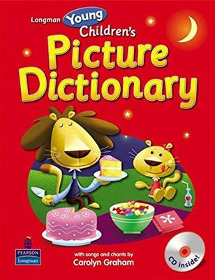 خرید کتاب انگليسی Longman Young Childrens Picture Dictionary+CD