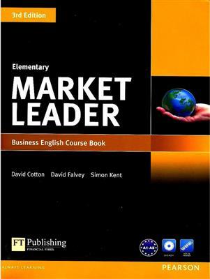 خرید کتاب انگليسی Market Leader Elementary 3rd (SB+WB+DVD)