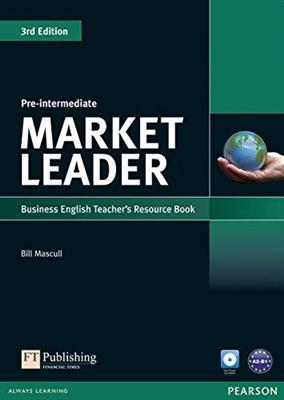 خرید کتاب انگليسی Market Leader Pre-Intermediate 3rd : Teachers Book+CD
