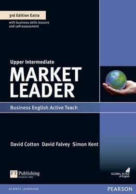 خرید کتاب انگليسی Market Leader Upper-Intermediate 3rd : Teachers Book+CD