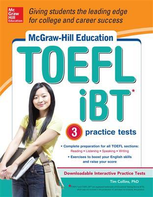 خرید کتاب انگليسی McGraw Hill Education TOEFL iBT+CD
