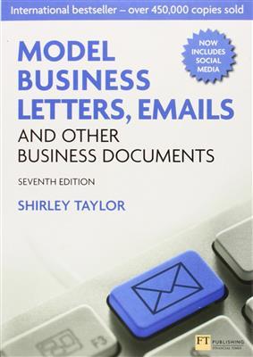 خرید کتاب انگليسی Model Business Letters