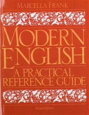 خرید کتاب انگليسی Modern English: A Practical Reference Guide