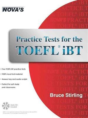 خرید کتاب انگليسی NOVA: Practice Tests for the TOEFL iBT+CD