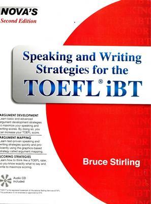 خرید کتاب انگليسی NOVA: Speaking and Writing Strategies for the TOEFL iBT+CD