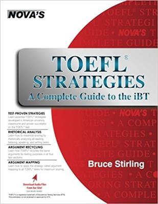 خرید کتاب انگليسی NOVA: TOEFL Strategies A Complete Guide to the iBT