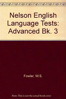خرید کتاب انگليسی Nelson English Language Tests