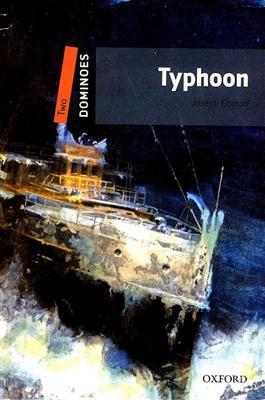 خرید کتاب انگليسی New Dominoes 2: Typhoon+CD