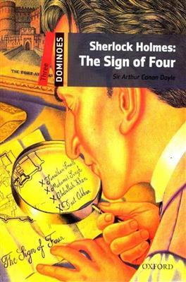 خرید کتاب انگليسی New Dominoes 3: Sherlock Holmes: The Sign of Four+CD