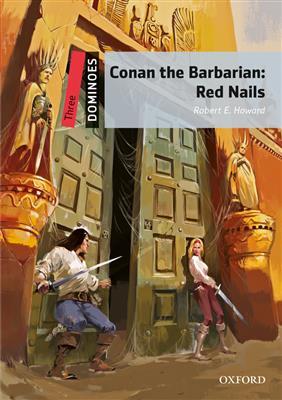 خرید کتاب انگليسی New Dominoes 3: Three Conan the Barbarian+CD
