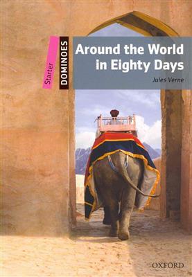 خرید کتاب انگليسی New Dominoes starter: Around the World in Eighty Days+CD