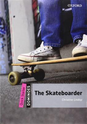 خرید کتاب انگليسی New Dominoes starter: The Skateboarder+CD