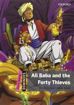 خرید کتاب انگليسی New Dominoes(Quick Starter): Ali Baba and the Forty Thieves+CD