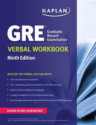 خرید کتاب انگليسی New GRE Verbal Workbook KAPLAN 9th
