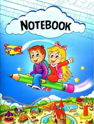 خرید کتاب انگليسی Notebook-دفتر چهارخط رحلي