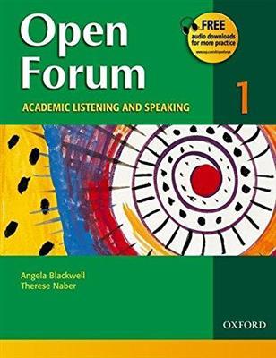 خرید کتاب انگليسی Open Forum 1 Student Book with Test Booklet & CD