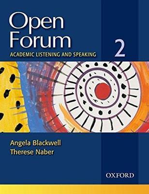 خرید کتاب انگليسی Open Forum 2 Student Book with Test Booklet & CD