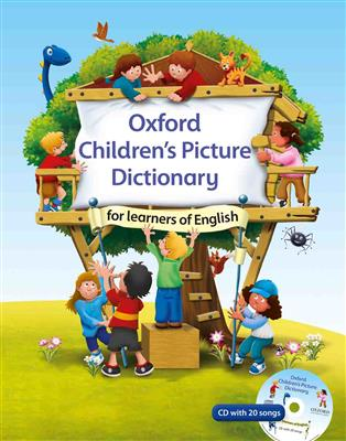 خرید کتاب انگليسی Oxford Childrens Picture Dictionary+CD