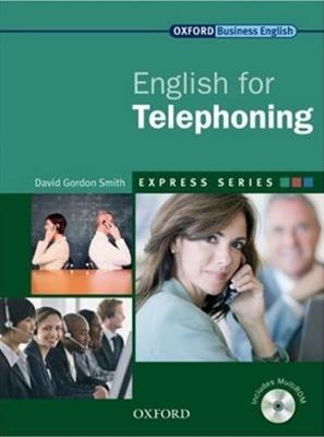 خرید کتاب انگليسی Oxford English for Telephoning + CD