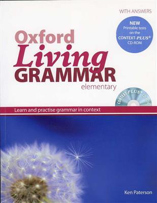خرید کتاب انگليسی Oxford Living Grammar Elementary+CD