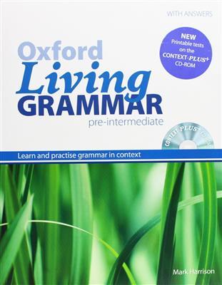 خرید کتاب انگليسی Oxford Living Grammar Pre-Intermediate+CD