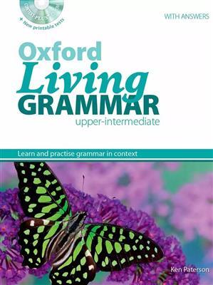 خرید کتاب انگليسی Oxford Living Grammar Upper-Intermediate+CD