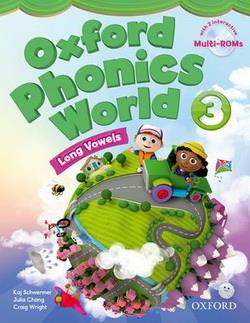 خرید کتاب انگليسی Oxford Phonics world 3 + wb + readers + CD