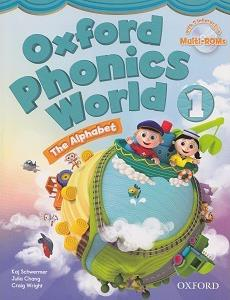 خرید کتاب انگليسی Oxford Phonics world + wb + readers 1 + CD
