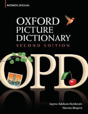 خرید کتاب انگليسی Oxford Picture Dictionary(OPD-H.B)+CD
