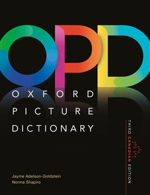 خرید کتاب انگليسی Oxford Picture Dictionary(OPD)+CD 3rd