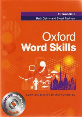 خرید کتاب انگليسی Oxford Word Skills Intermediate+CD