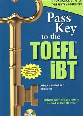 خرید کتاب انگليسی Pass Key to the TOEFL iBT 9th+CD