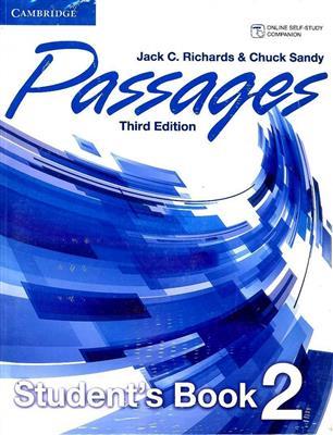 خرید کتاب انگليسی Passages 2 (3rd) SB+WB+CD