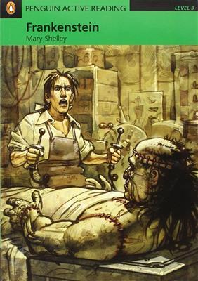 خرید کتاب انگليسی Penguin Active Reading 3:Frankenstein+CD