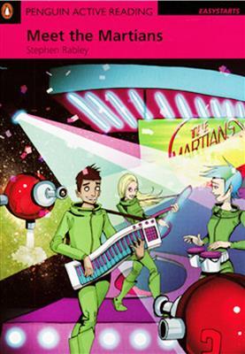 خرید کتاب انگليسی Penguin Active Reading Easy :Meet the Martians+CD