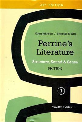 خرید کتاب انگليسی Perrines Literature 1 Fiction-12th